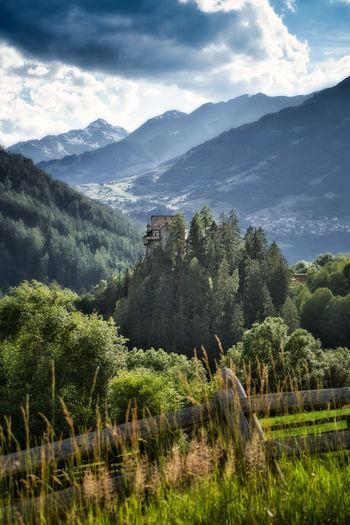 Castle berneck, austria