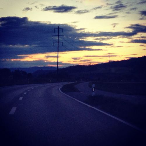 Sunset Ontheroad Skyporn Sky
