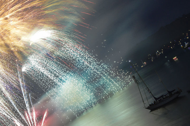 Fireworks Plymouth Sky Popular Photos