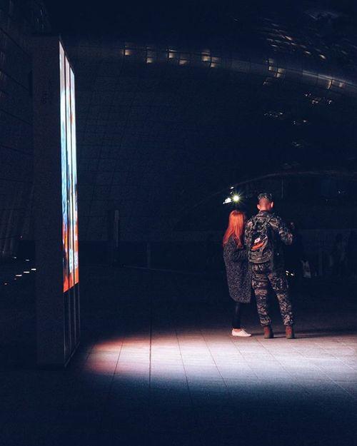 Personal fav. // // Korea Seoul Dongdaemun Designplaza DDP Couples 서울 동대문디자인플라자 동대문 Lighting Fresh On Eyeem