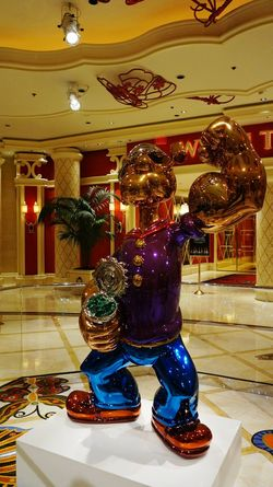 Arts Culture And Entertainment Indoors  Full Length One Person Nightlife People Adult One Man Only Night Adults Only Popeye Sailor Popeye Cartoon Characters Las Vegas Hotel Popular Las Vegas NV