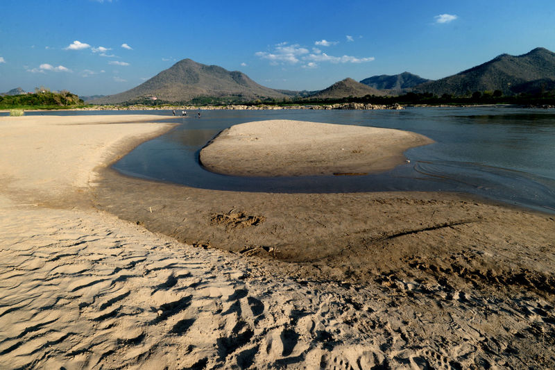 Kong River River View Riverside Beauty In Nature Loei,thailand Mountain Nature Sand Scenics Water