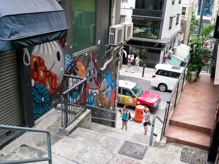 Urban explorer club. City Life Hong Kong I Love Hong Kong Perspective Staircase Urban An Eye For Travel