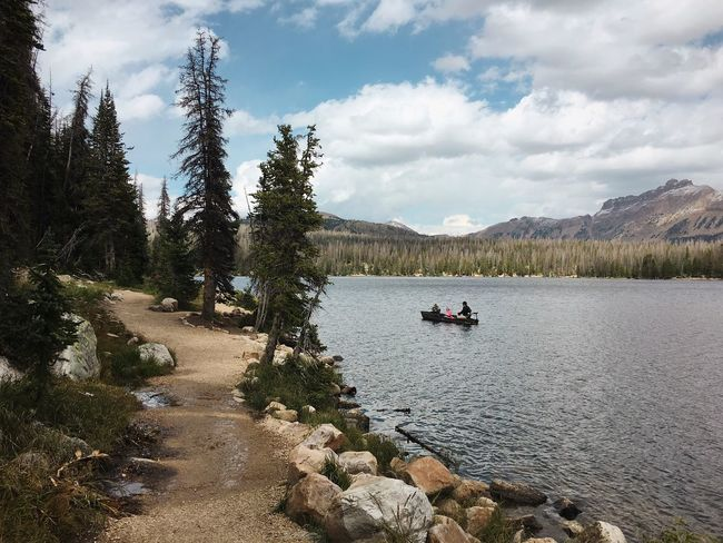 great views and trail all the way around. can't wait to come back. Mirror Lake, Uinta Mountains. Uinta Mountains Mirror Lake Utah