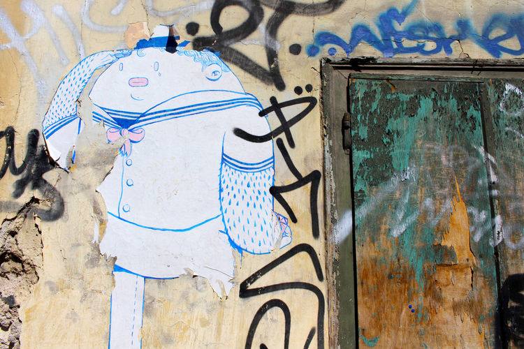 Art Athens Athens, Greece Creativity Day Greece No People Sailor Street Art Street Art/Graffiti Streetart Streetphotography Urban Urban Decay Urbanphotography