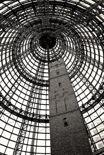Melbourne Central Melbourne City Black And White