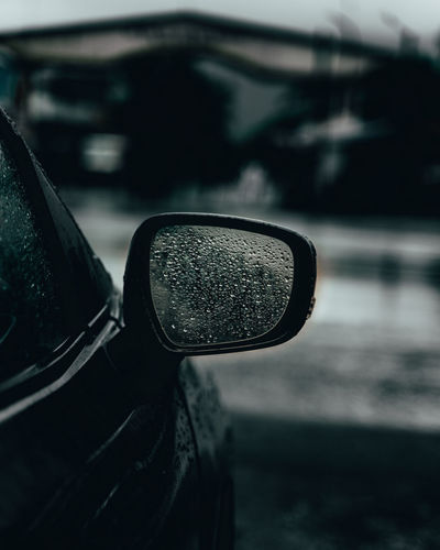 car RainDrop Moodygrams Moody Water City Land Vehicle Drop Wet Close-up Monsoon RainDrop Dew Focus Side-view Mirror Rainy Season Rain Vehicle Part Vehicle Mirror Rainfall Weather