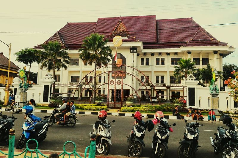 City Building Motorcycle Indonesia