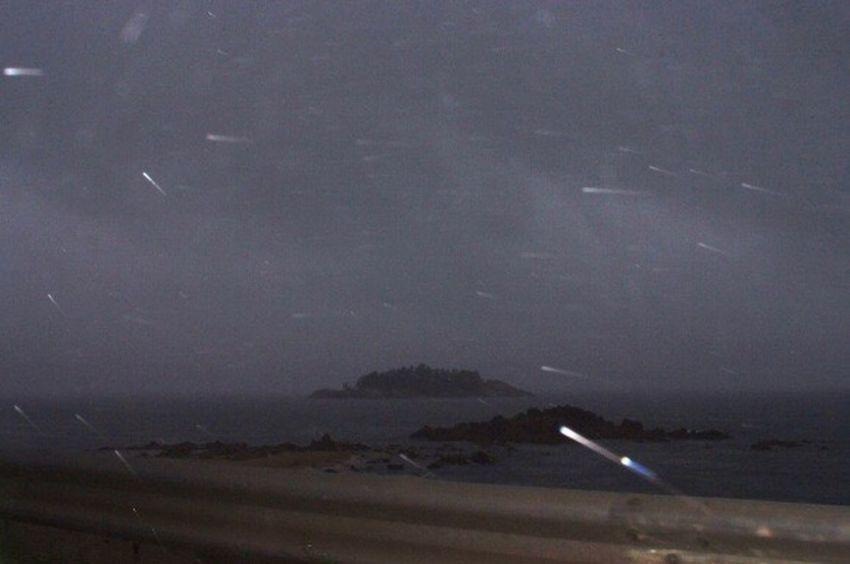 S5pro Fujifilm Sea And Sky Night Rain