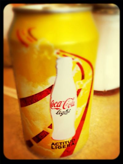 CanCoca Cola Light Yellow