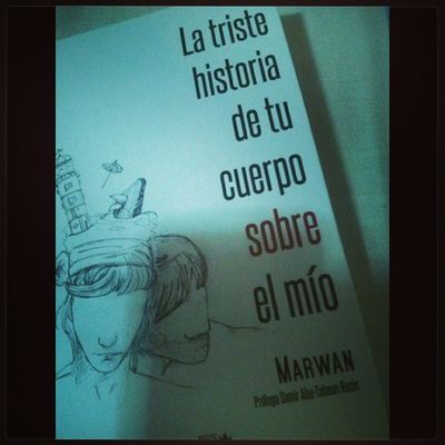 Que maravilla haberme traído este libro Marwan