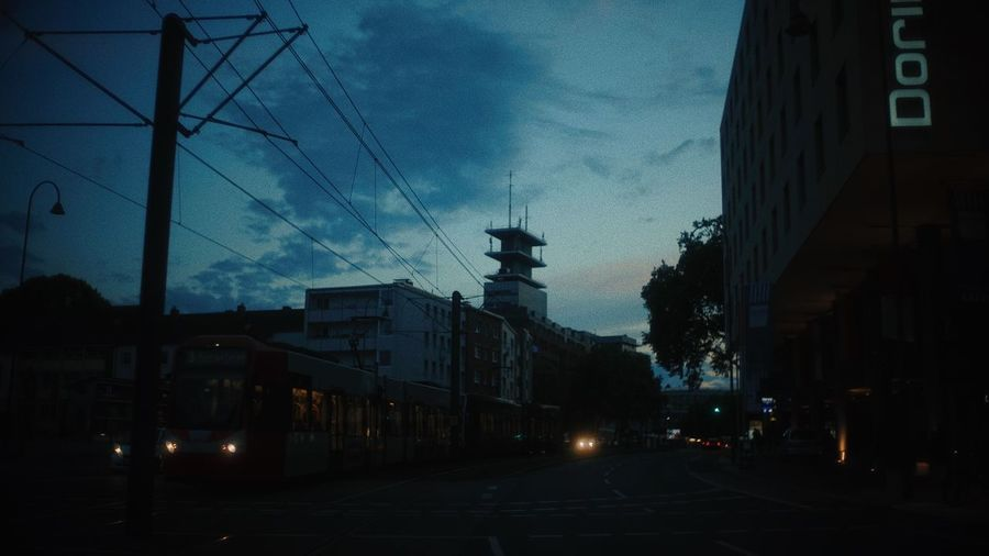 Blue Hour City Architecture Blue Hour City Dark EyeEm Selects Lonely Night Lights Silhouette The Week On EyeEm Wanderlust Blue Sky City Lights Darkness And Light Dawn Evening Golden Hour Neon Night Street Street Photography Streetphotography