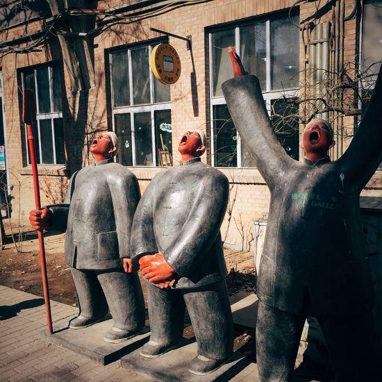 798 art park Status Sculpture