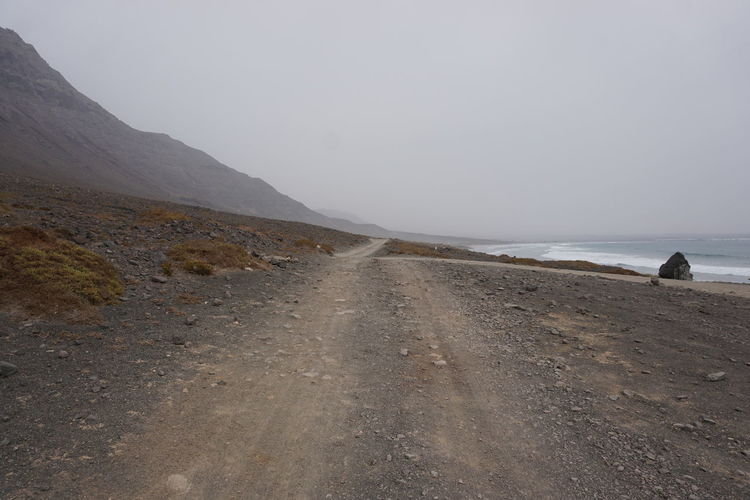 Atlantic Atlantic Ocean Canary Islands Lanzarote Lanzarote Island Unpaved Roads Natural Way Volcanic Landscape