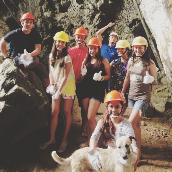 Tour guide's pet dog came along with us 'til we've reached the top of the cave! Caving Enjoying Life Eyeem Philippines EyeEm Phillipines Ugong Rock Mountain Ugong Rock Cave Puerto Princesa Puerto Princesa City Palawan Philippines Everyday Joy Everyday Emotion