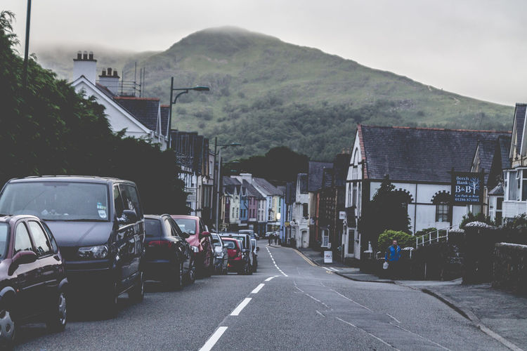The Mountain Town Llandudno Beautiful Nature Beautiful Places Beauty In Nature Cloud Diminishing Perspective Hiking Mountain Mountain Range Nature Road Sky Snowdon Town Travel Destinations Travel Photography Traveling Trekking Vanishing Point Village Wales Your Ticket To Europe Visual Creativity The Traveler - 2018 EyeEm Awards