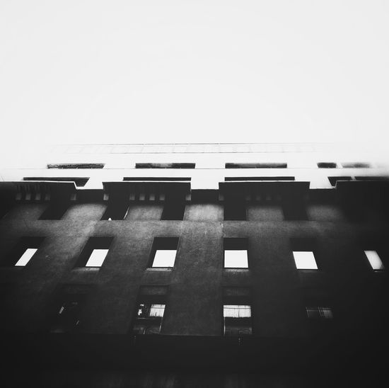 Built Structure Square The Architect - 2017 EyeEm Awards Black And White Friday