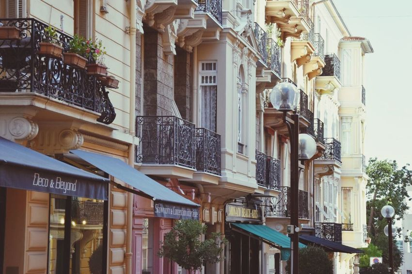Cute street in Monaco. Architecture Building Exterior Built Structure No People Outdoors Day City Monaco Cute Street