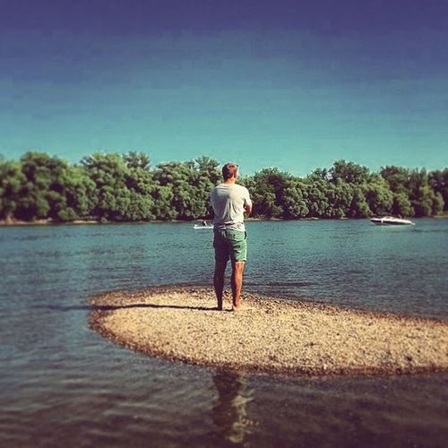 My little island Danube Donau Summer Summertime Justoutsidethecity Budapest Lupasziget Wondering Summerof69 Nature Downbytheriver @nikola.vegh