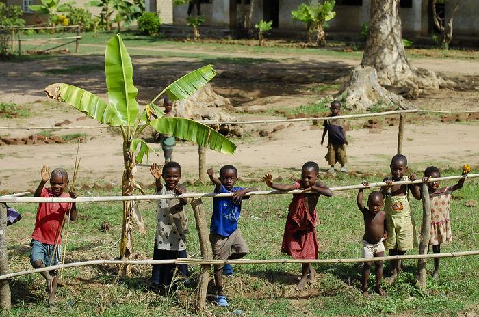 African Children Malawi African Children Boys Child Fence