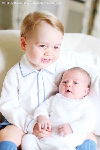 Royal Cuteness of Prince Charles and Princess Charlotte ModernDayFairytale