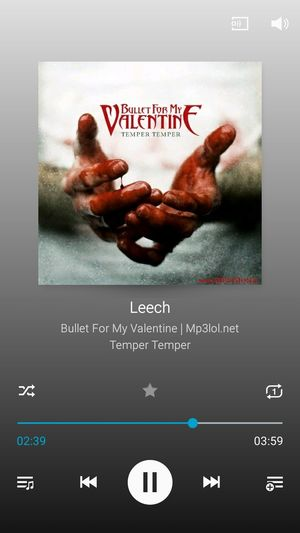 Leech Bullet For My Valentine Temper Temper Music Song Metal Blood Hands