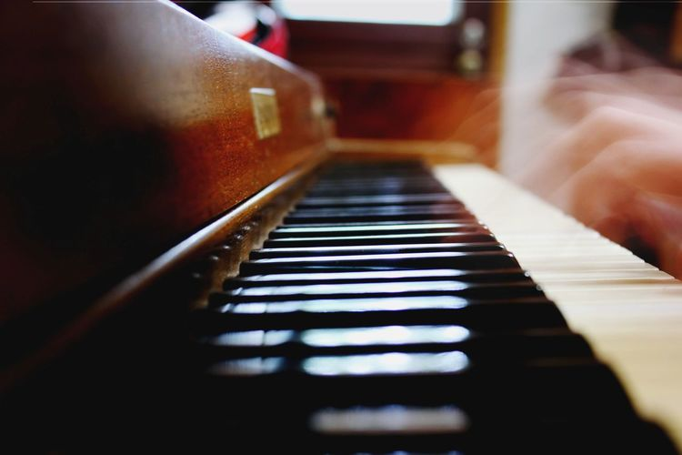 Piano time...