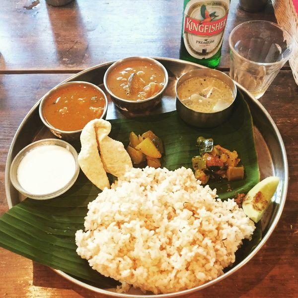 @ケララ食堂 Curry Food Meal カレー インドカレー 南インドカレー ミールス ケララ食堂