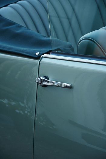 Beautiful classic car Classic Car Backgrounds Blue Car Car Door Close-up Day Handle Land Vehicle Luxury Metal Mode Of Transportation Motor Vehicle No People Outdoors Retro Styled Silver Colored Transportation Turquoise Colored Vehicle Door Vintage Car Wealth
