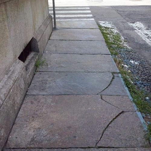 Di strade, parallelismi e sole.