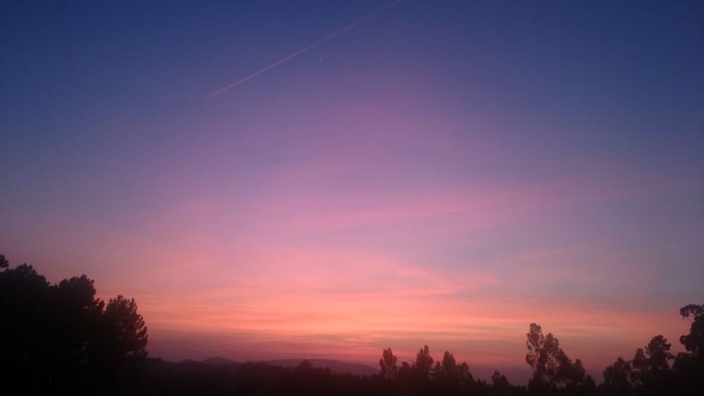 Sunset Sky Tranquil Scene Beauty In Nature No People Portugal Castelo Branco