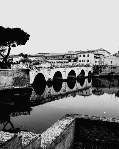 Bridge - Man Made Structure Rimini Ponteditiberio Cityscape Architecture