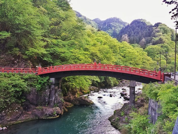 bridge over still water || Shinkyo Bridge Travel Traveling Travelling Travels Outdoors Nature Explore Nippon Architecture