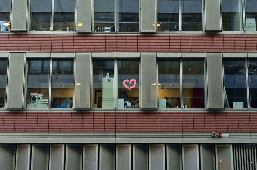 There is Love in the Office Love Office Stickerart Love ♥ Office Building Sticker Love Is In The Air EyeEm Best Shots Jopesfotos - Buildings