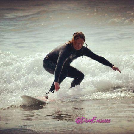 Me Surfing Newgale Pembrokeshire BankHoliday SplashUp DimExcuses