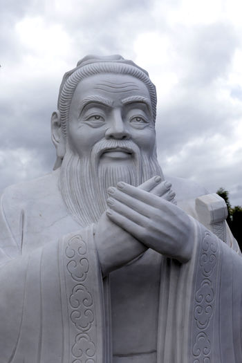 Kingston, Jamaica Philosophy Wisdom Chinese Culture Confucius Human Representation Konfuzius Sculpture