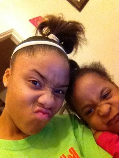 """Lol Our """"U Fried Face !! (: """""""