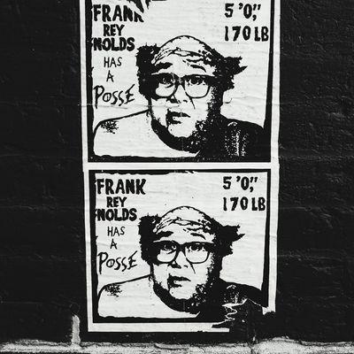Itsalwayssunnyinphiladelphia Danny DeVito Close-up Outdoors Paper Ink Poster Phillyphotographer