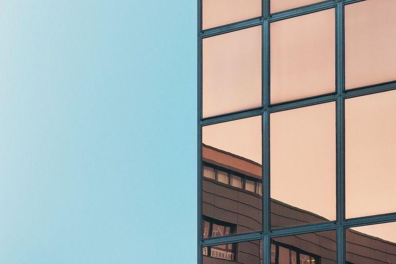 Neukölln Reflections Minimalism Architecture Symmetry Urban Geometry