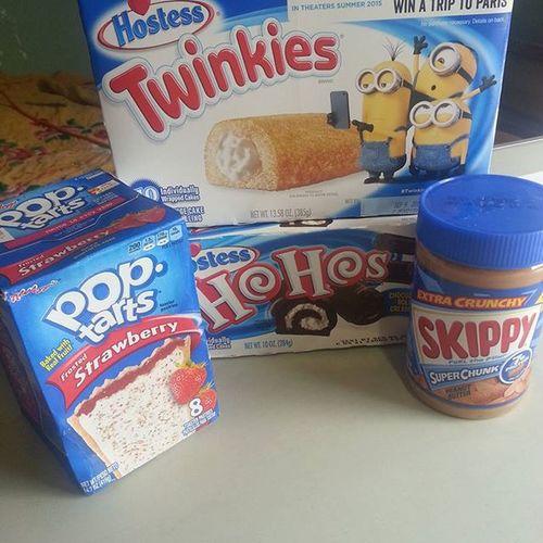 Nose envidienme o algo !!! 😏 Skippy HoHos Twinkies  Poptarts