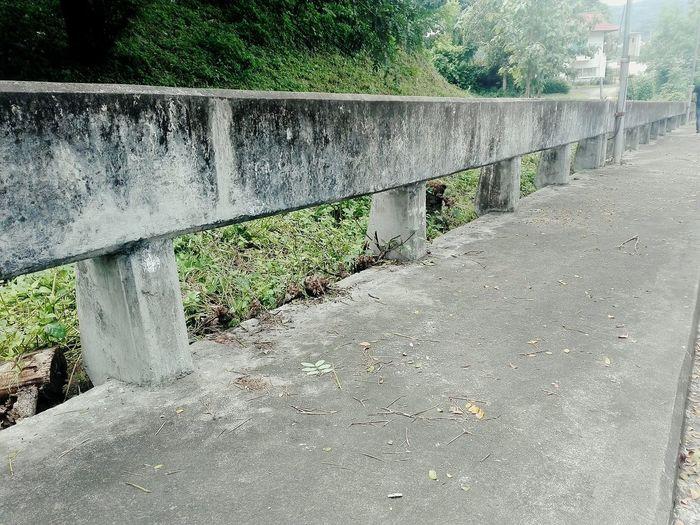 Bridge - Man Made Structure Railing Outdoors Connection Footbridge Pavement wayside