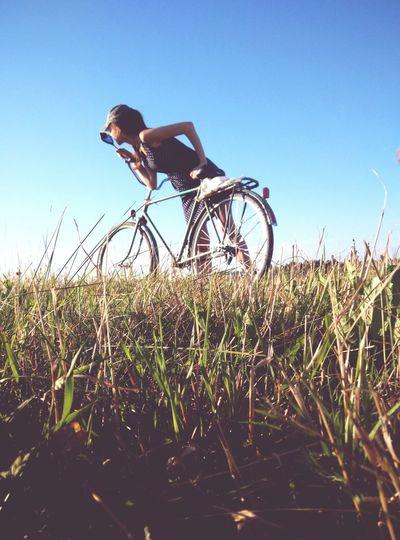 Otvass Belarus Nature Riding Bike Summertime Remember Summer  Love ♥ Summer ☀ Vsko