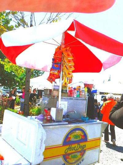 Check This Out Hanging Out Enjoying Life Farmers Market Hot Dog Stand Everett, WA