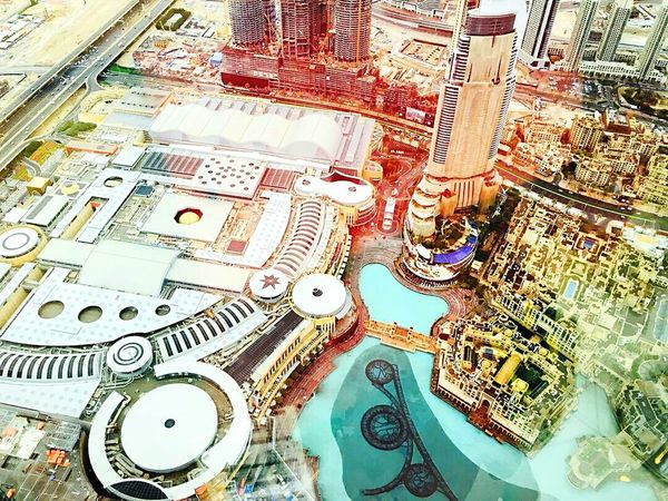 TheViewFromUpHere Burj Khalifa Dubai❤ UAE High Angle View Travel