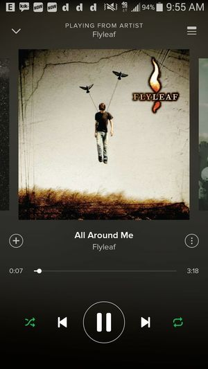 Day 2. A song that makes me dance is flyleaf- all round me 😊 Allysphoto Flyleaf Allaroundme Dancemood Laceymosleyisthebest Laceymosley