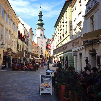 Bratislava's #oldtown ☀️☀️ #summer #allshots_ #bratislava #church #gang_family #iccity #ic_cities #o2travel #top_masters Summer Church Oldtown Bratislava Gang_family Allshots_ Ic_cities O2travel Top_masters From_city Iccity