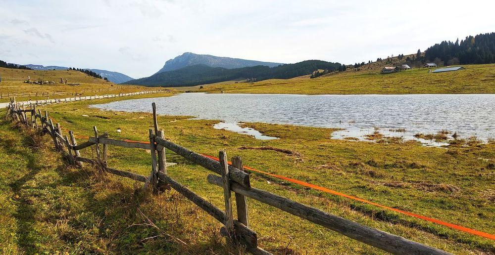 Mountain Tree Rural Scene Sky Grass Landscape Mountain Range Lake