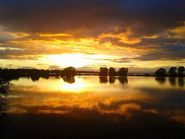 Sunset over Oxford Island Nature Reserve - Lurgan, Co Armagh, N.Ireland