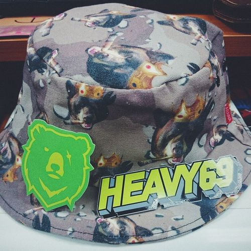 Live Heavy @heavy69daddy Vscocam Heavy BucketHat Bucket Hat Hatter Camouflage Madeinthailand