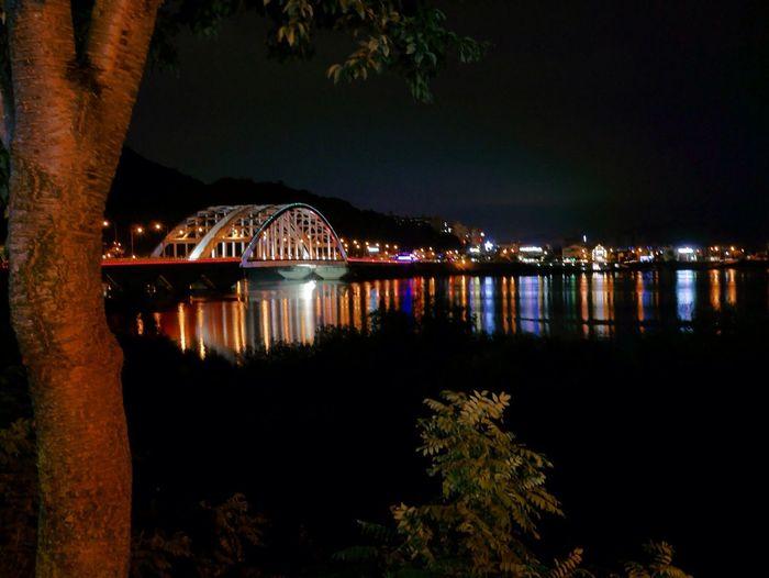 Bridge Night Lights Night View NightSnaps